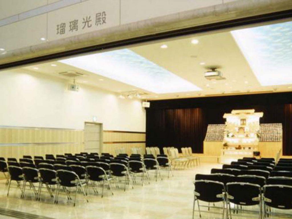 平安会館名古屋斎場1F中ホール