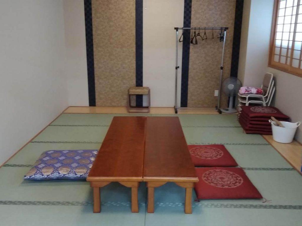 銀杏ホール 控室(和室)