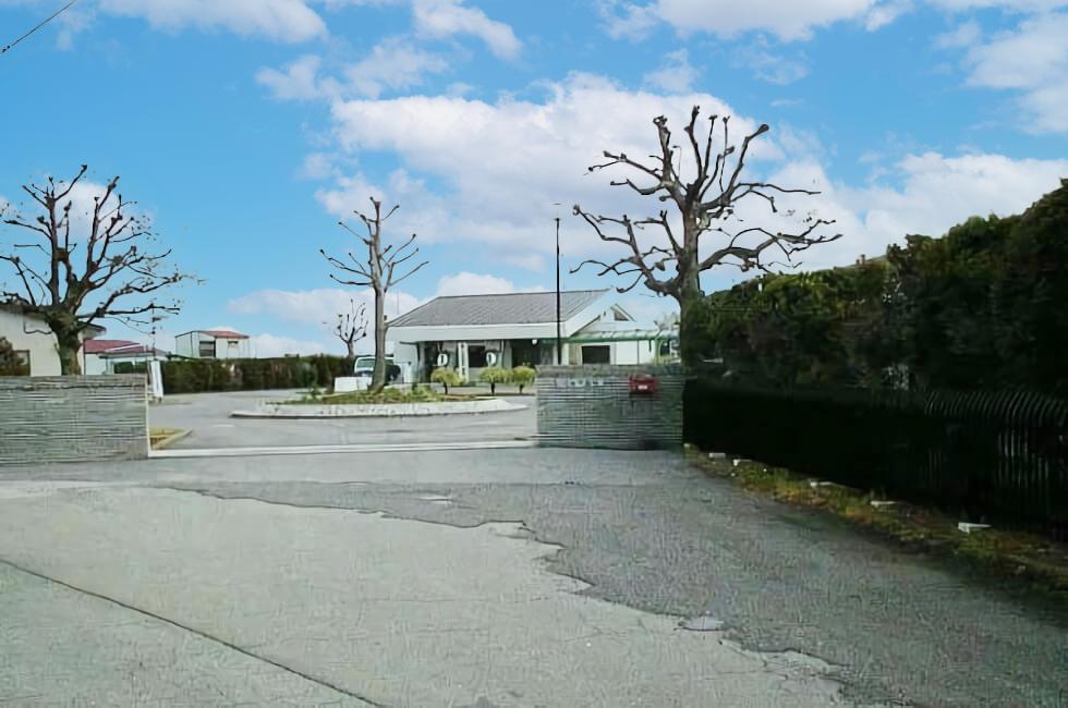 埼玉県行田市にある行田市営斎場の外観
