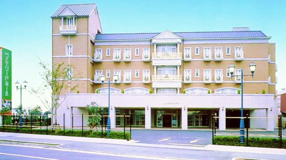 高崎メモリードホールの外観写真
