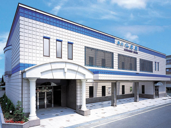 (株)栄光堂セレモニーユニオンが運営する泉北仏光殿の外観