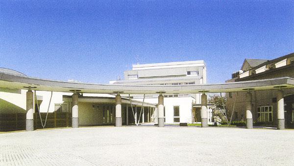 さしま斎場(茨城県猿島郡境町)の外観