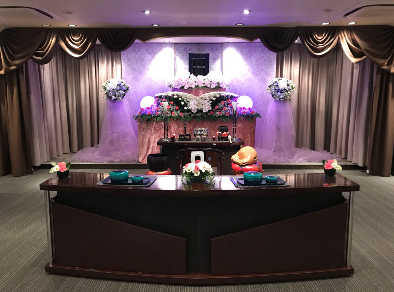 浦和典礼会館の葬儀式場の写真