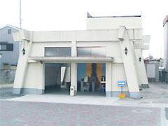 東大阪市にある火葬場を併設した岩田斎場の外観写真