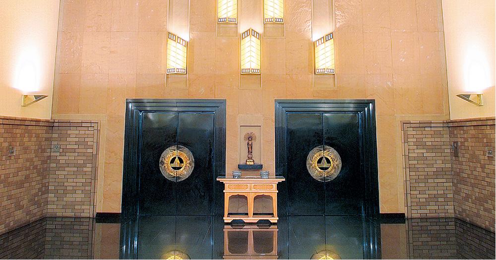 戸田葬祭場の火葬施設「特別殯館」の写真。2つの火葬炉がある個室仕様の火葬場