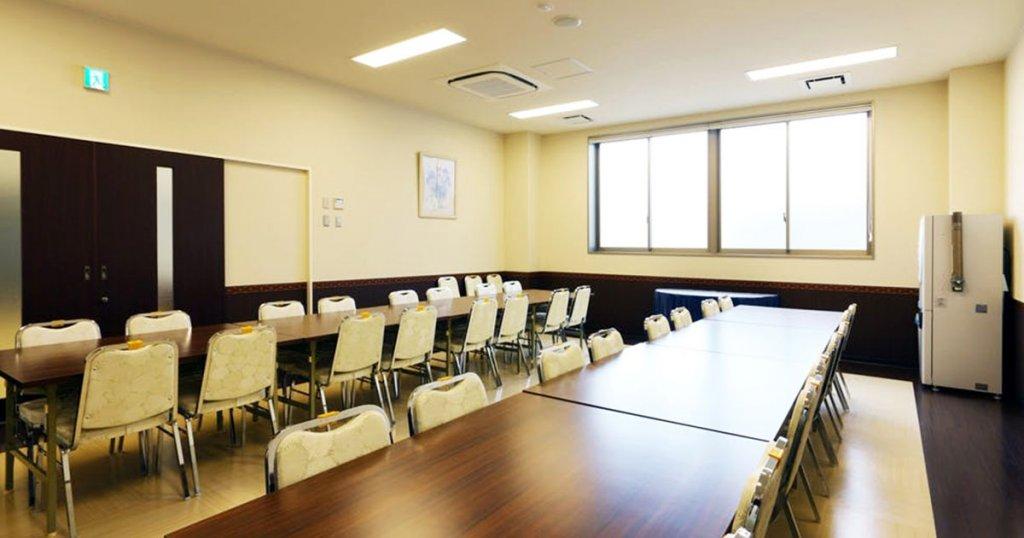 大阪市鶴見区の民営斎場「鶴見大阪祭典」食事室