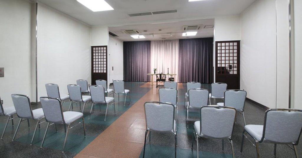 大阪市東淀川区の民営斎場「吹田大阪祭典」葬儀式場「孔雀殿」