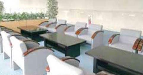 臨海斎場内、火葬時に利用できる無料の待合スペース