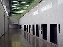 瑞江葬儀所の火葬炉棟の内観写真