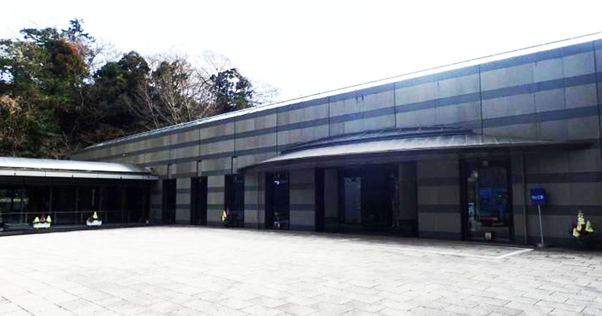 藤沢市の火葬場「藤沢聖苑」外観