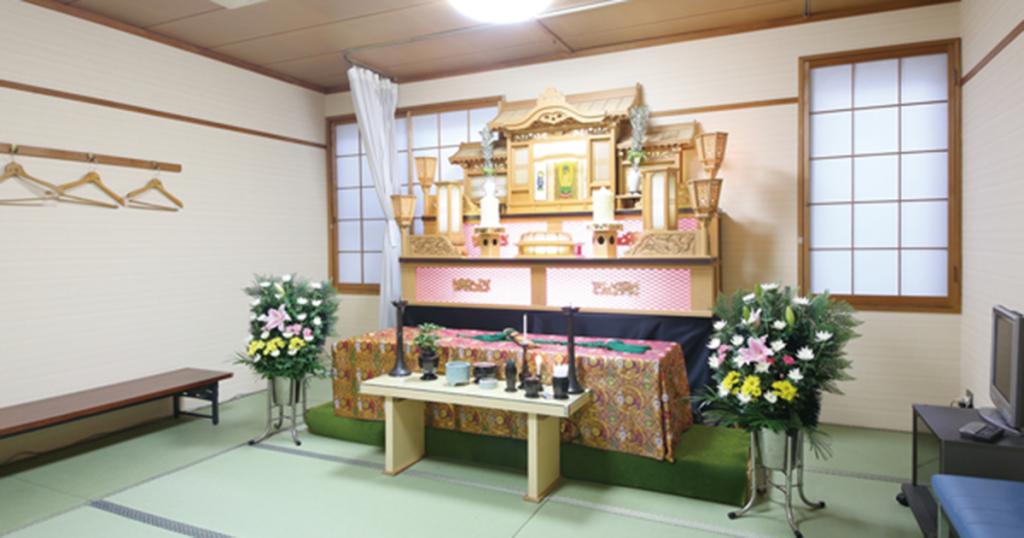 大阪市東淀川区の民営斎場「吹田大阪」小式場