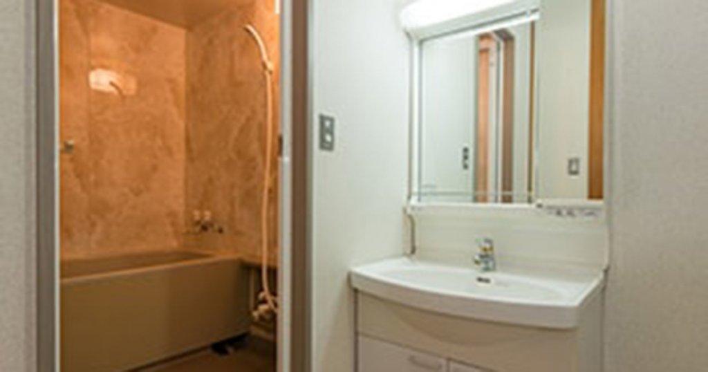 門真市の民営斎場「ティア門真」浴室