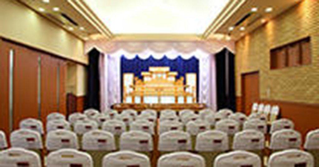 宮崎市の民営斎場「ファミーユ大塚」葬儀ホール