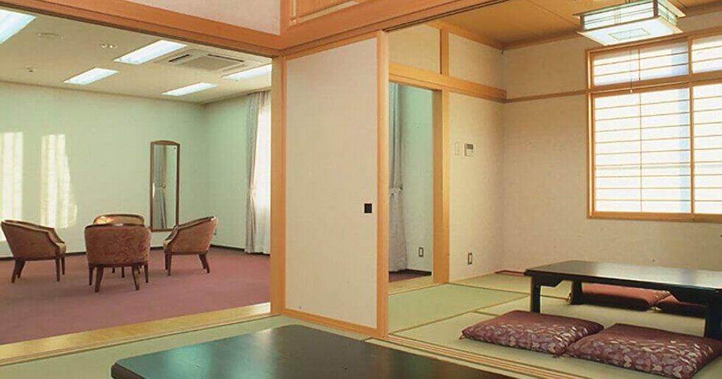 新潟市中央区の民営斎場「セレモニーホールさくらぎ」親族控室