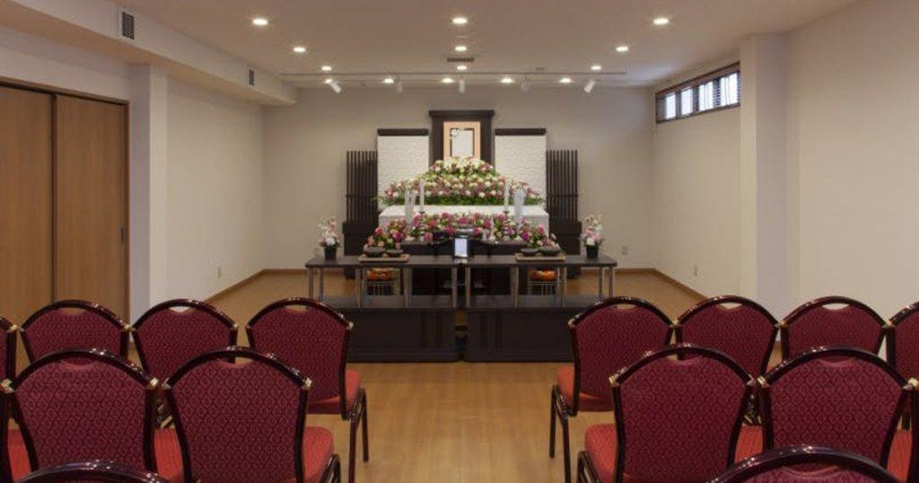 川崎市麻生区の民営斎場「百合ヶ丘家族葬ホール」ホール