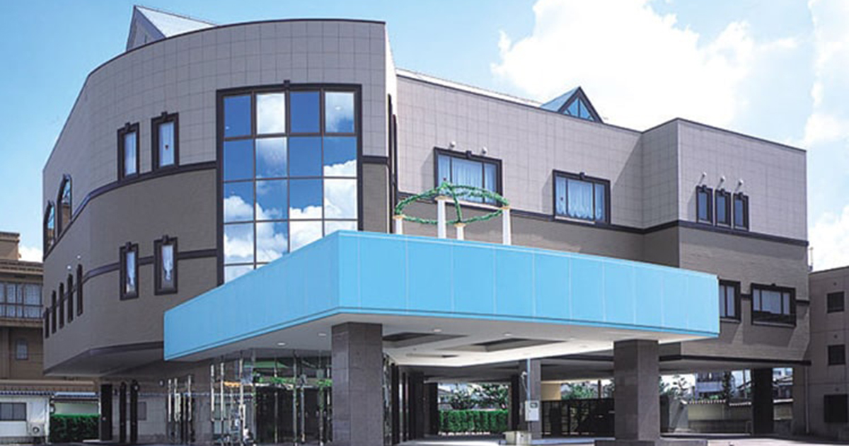 三条市の民営斎場「VIPシティホール県央」外観