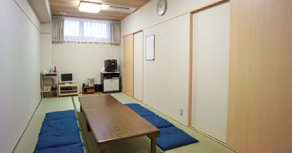 仙台市の民営斎場「セレモール小田原」親族控室