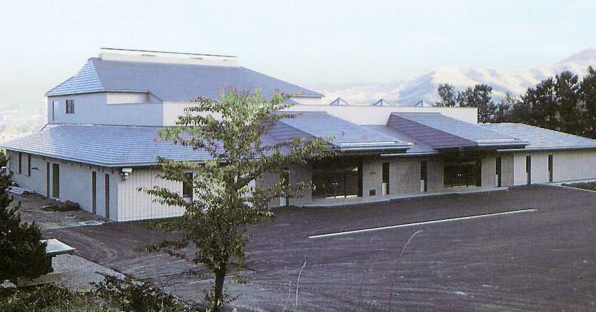 小樽市の公営斎場・火葬場「小樽市斎場」の外観