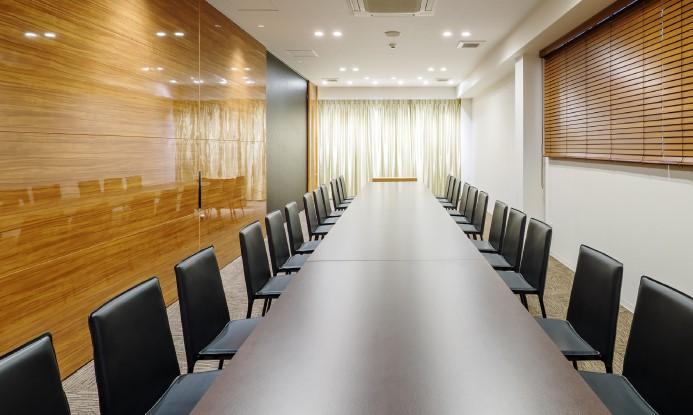 岡山典礼会館の会食室