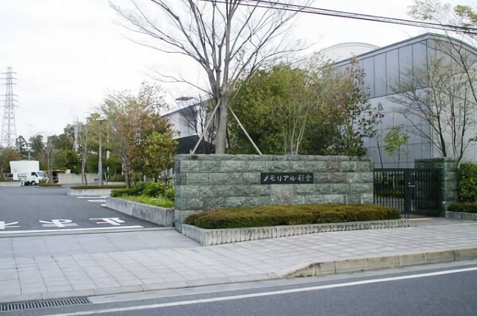 埼玉県熊谷市にある市営の火葬場・メモリアル彩雲の外観写真