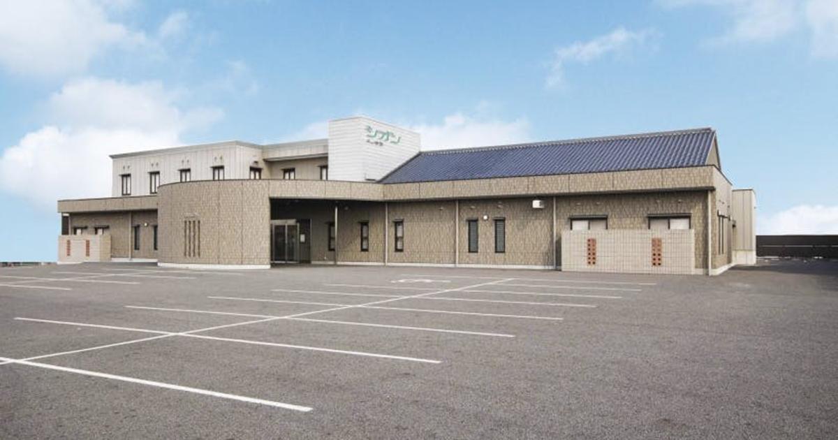 犬山市の民営斎場「シオン犬山会館」外観