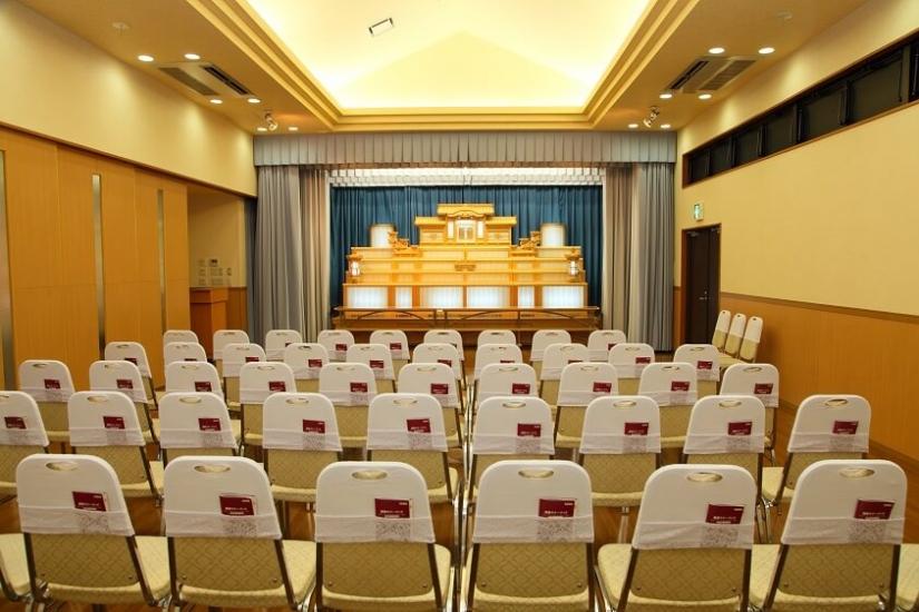 ファミーユ佐土原の葬儀ホール