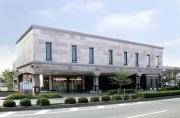 熊本市東区にある民営斎場玉泉院月出会館の外観です