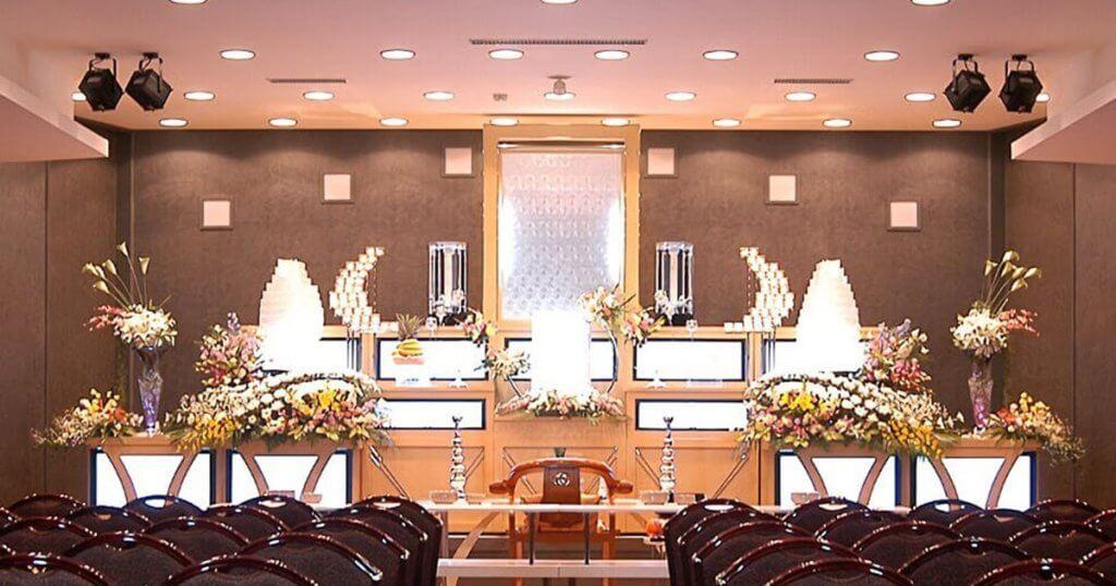 新潟市東区の民営斎場「セレモニーホール竹尾」葬儀ホール