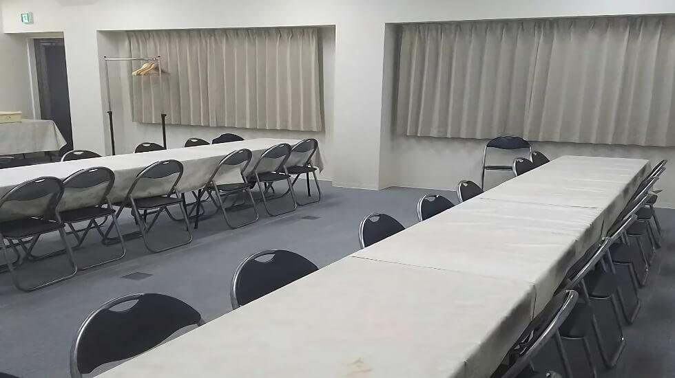 モアサポートむさし野の会食室です。