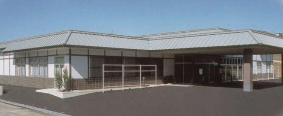 臼杵市江無田にあるプリエールうすきの外観です。