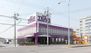 岡崎市薮田にある株式会社ティアが運営している民営斎場、ティア岡崎北の外観です。