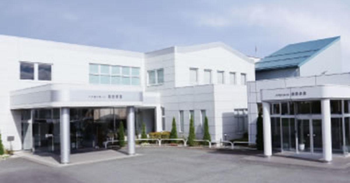 長野市の民営斎場「ハクゼンホール稲田会館」外観
