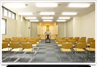 新東松山斎場は本堂を葬儀斎場として利用可能です。