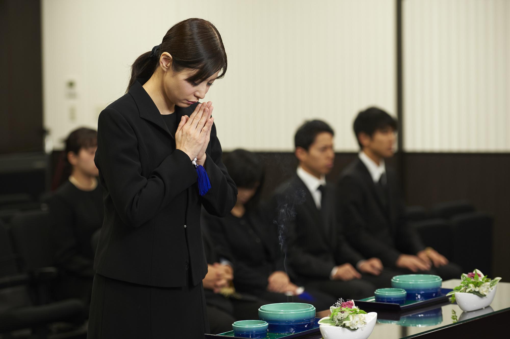 小平サポートセンターでの葬儀のイメージ