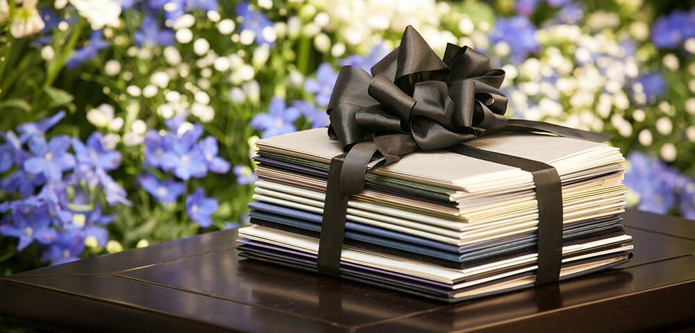 葬儀の際に葬儀場に送る弔電のイメージ
