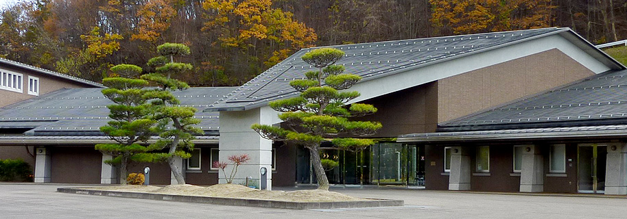 二本松市永田にある火葬場併設公営斎場「あだたら聖苑」
