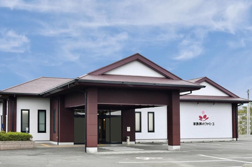 宮崎市にある民営斎場「ファミーユ花ヶ島」