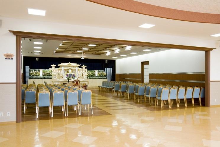 平安会館 有松斎場の式場