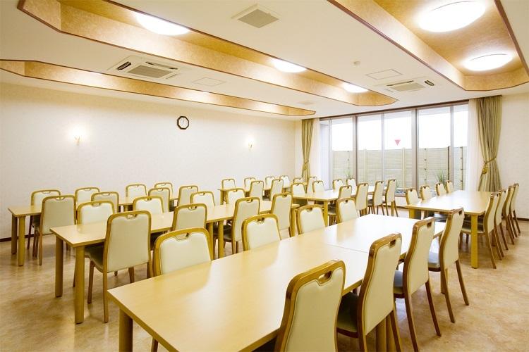 平安会館 有松斎場の会食室