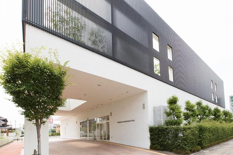 佐賀市にある株式会社メモリードの自社式場夢咲メモリードホールの外観