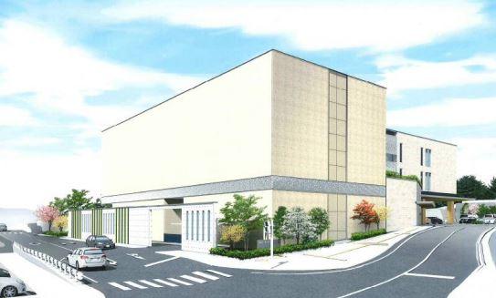 岡山市東山斎場の外観イメージ