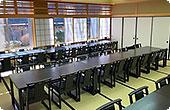 なかのじょう聖苑の待合室、会食室としても使えます。