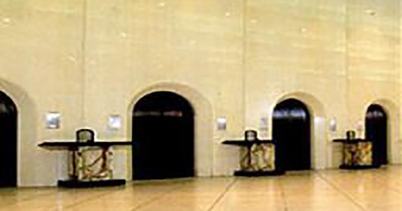 火葬場併設の公営斎場大和斎場の火葬炉写真