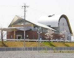 瑞穂市別府にある公営火葬場「瑞穂市火葬場」の外観です