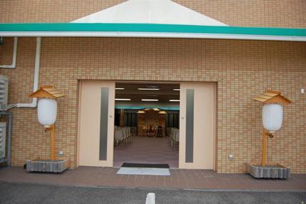 名古屋市天白区にある民営斎場「はら南会館」