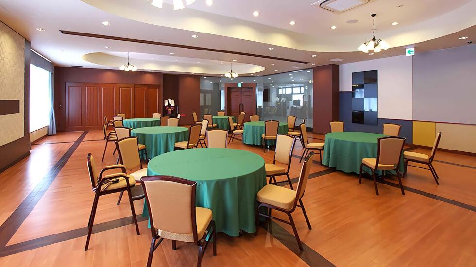 セレモニーホール遊佐の会食室です。