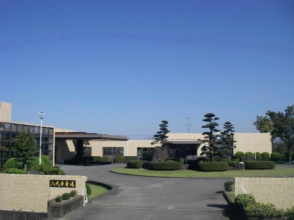 八代市松崎町にある公営火葬場「八代市斎場」