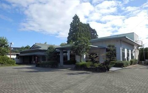 大和郡山市九条町の公営斎場「大和郡山市清浄会館」の外観です