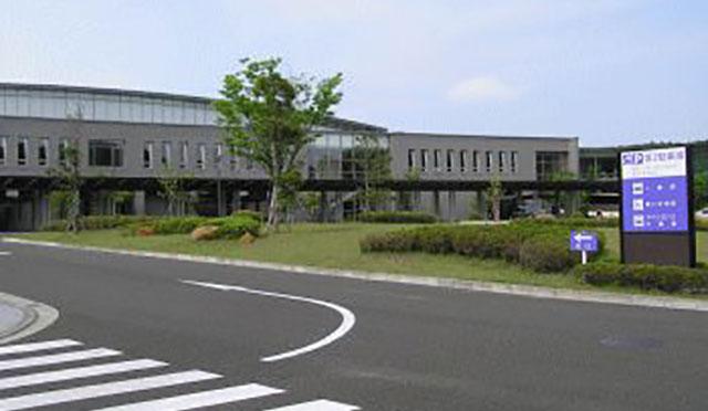 仙台市葛岡斎場の外観です