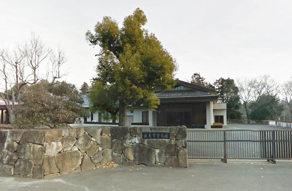 坂東市馬立にある公営斎場「坂東市営斎場」の外観です